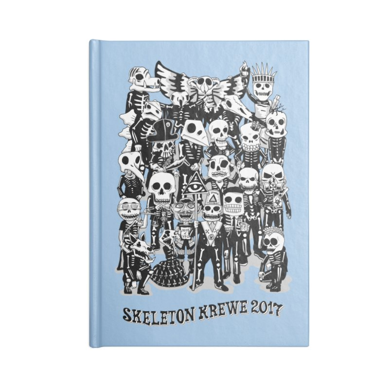 Skeleton Krewe 2017 Accessories Notebook by Skeleton Krewe's Shop