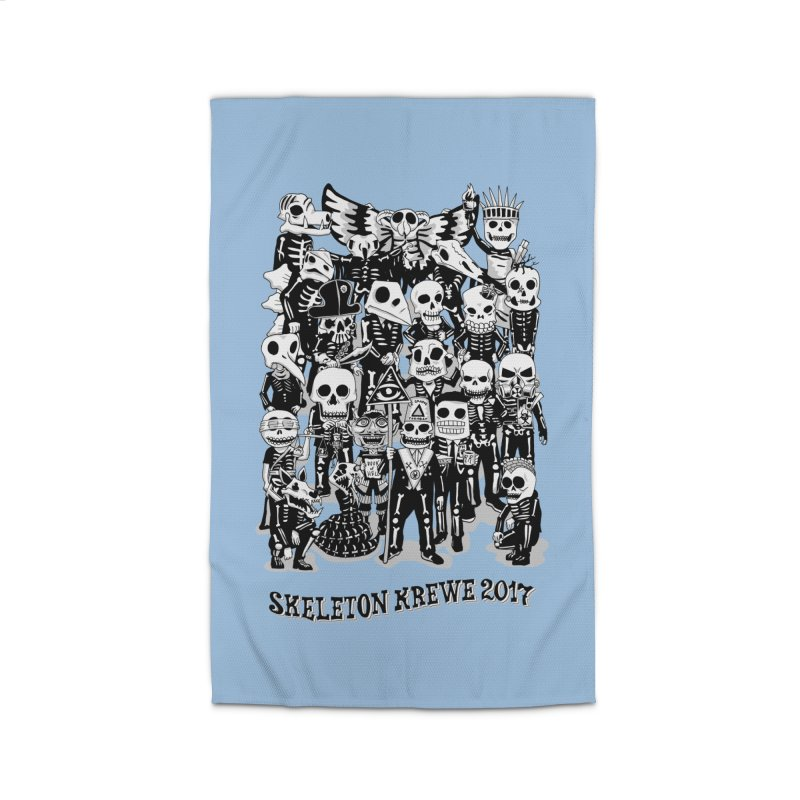 Skeleton Krewe 2017 Home Rug by Skeleton Krewe's Shop