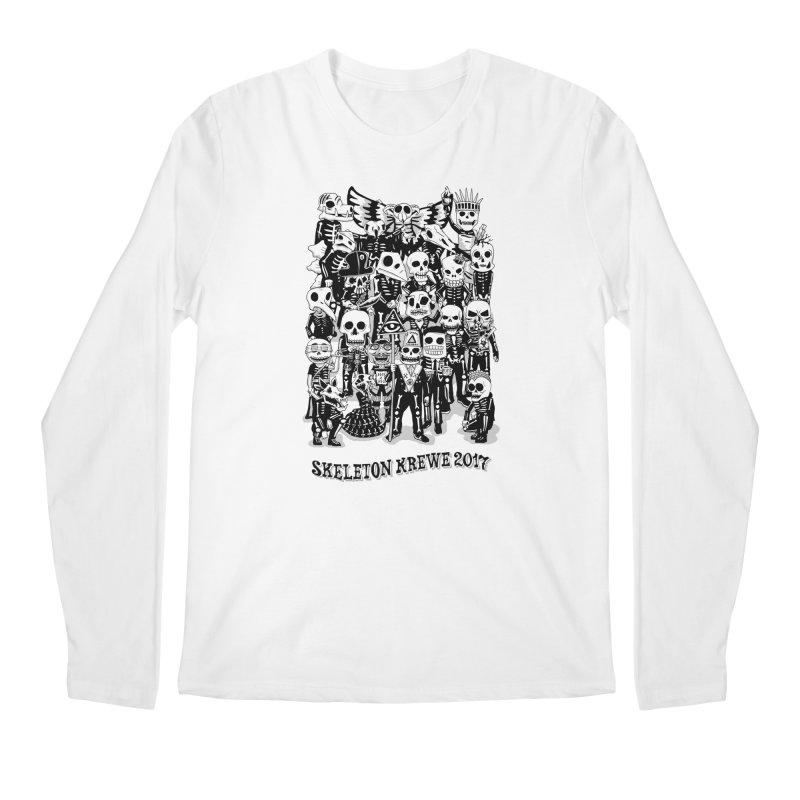 Skeleton Krewe 2017 Men's Longsleeve T-Shirt by Skeleton Krewe's Shop