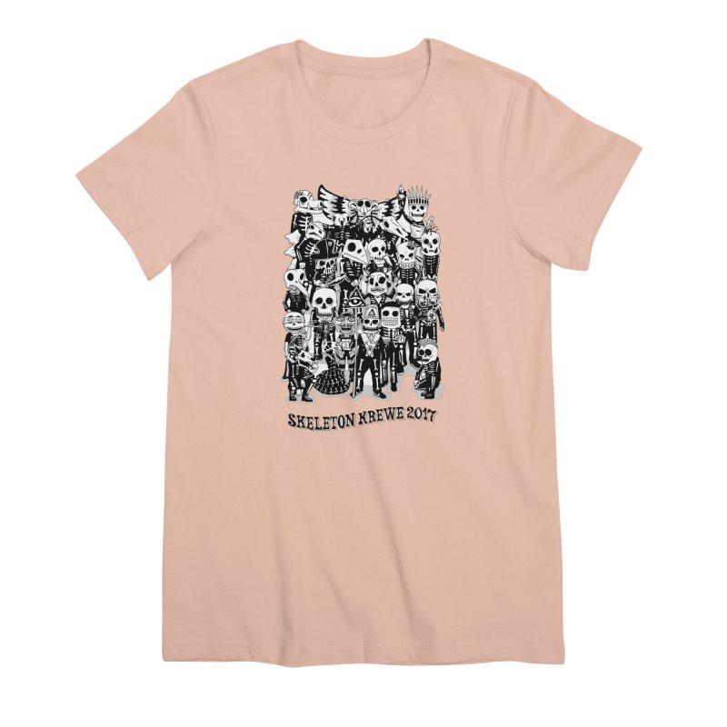 Skeleton Krewe 2017 Women's Premium T-Shirt by Skeleton Krewe's Shop