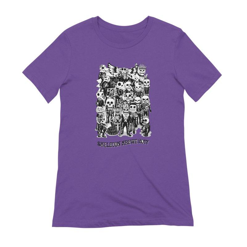 Skeleton Krewe 2017 Women's Extra Soft T-Shirt by Skeleton Krewe's Shop