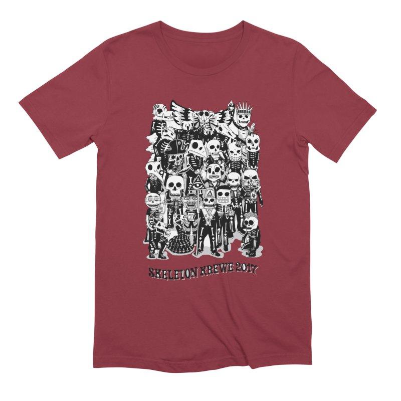 Skeleton Krewe 2017 Men's Extra Soft T-Shirt by Skeleton Krewe's Shop
