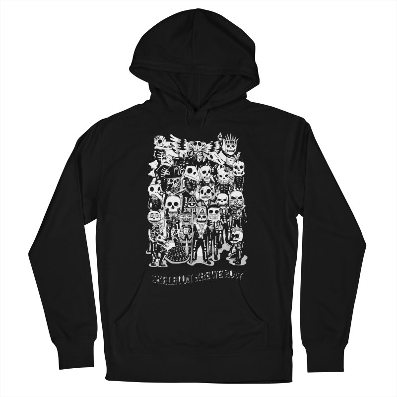 Skeleton Krewe 2017 Women's French Terry Pullover Hoody by Skeleton Krewe's Shop