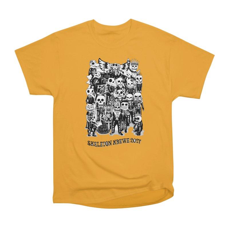 Skeleton Krewe 2017 Women's Heavyweight Unisex T-Shirt by Skeleton Krewe's Shop