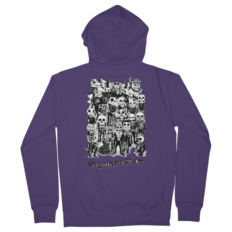 Skeleton Krewe 2017 Women's Zip-Up Hoody by Skeleton Krewe's Shop