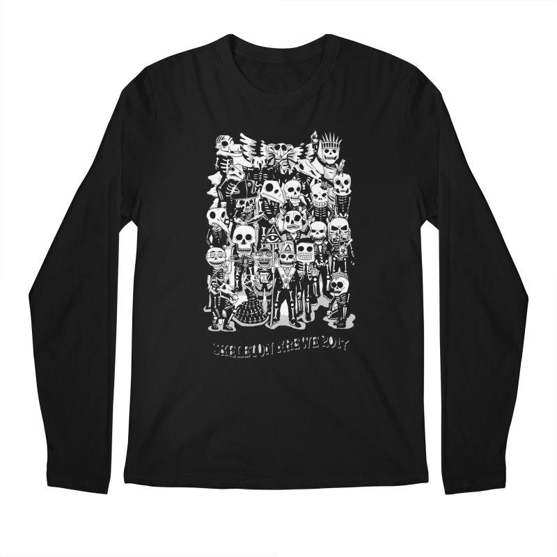Skeleton Krewe 2017 Men's Regular Longsleeve T-Shirt by Skeleton Krewe's Shop
