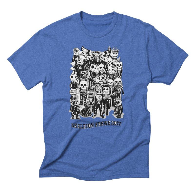 Skeleton Krewe 2017 Men's Triblend T-Shirt by Skeleton Krewe's Shop