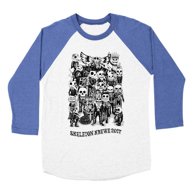 Skeleton Krewe 2017 Women's Baseball Triblend Longsleeve T-Shirt by Skeleton Krewe's Shop