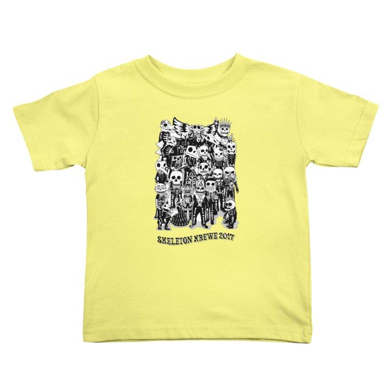 Skeleton Krewe 2017 Kids Toddler T-Shirt by Skeleton Krewe's Shop
