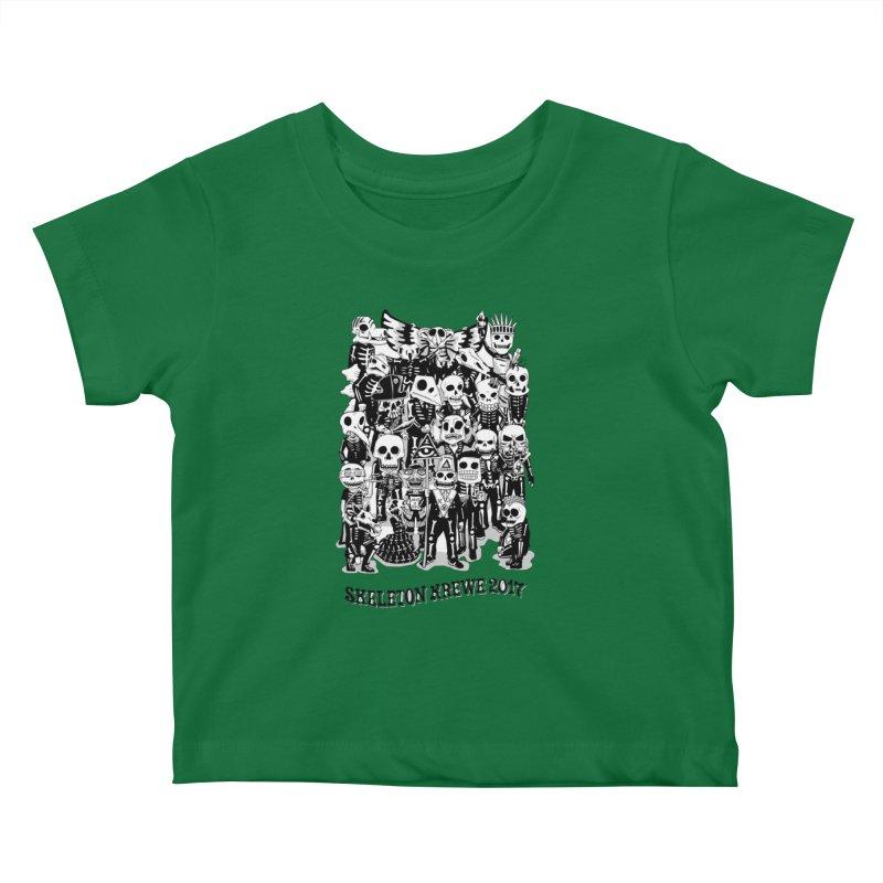 Skeleton Krewe 2017 Kids Baby T-Shirt by Skeleton Krewe's Shop