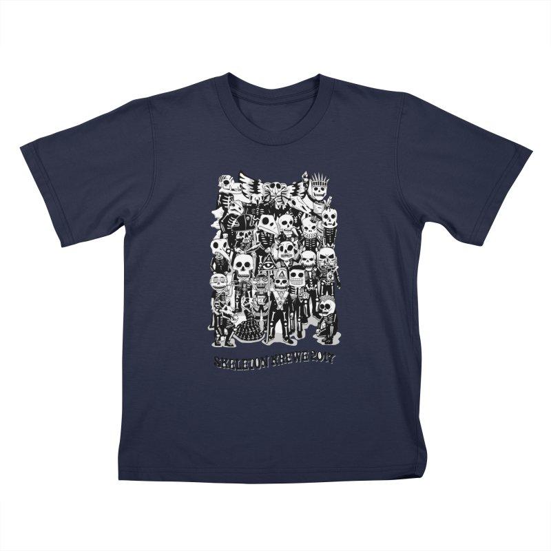 Skeleton Krewe 2017 Kids T-Shirt by Skeleton Krewe's Shop