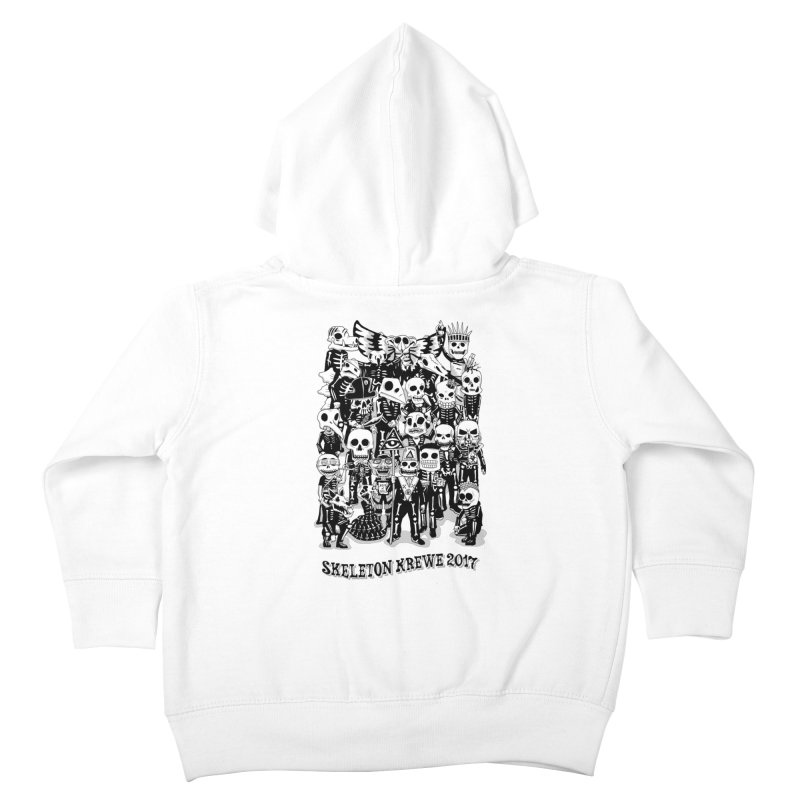 Skeleton Krewe 2017 Kids Toddler Zip-Up Hoody by Skeleton Krewe's Shop