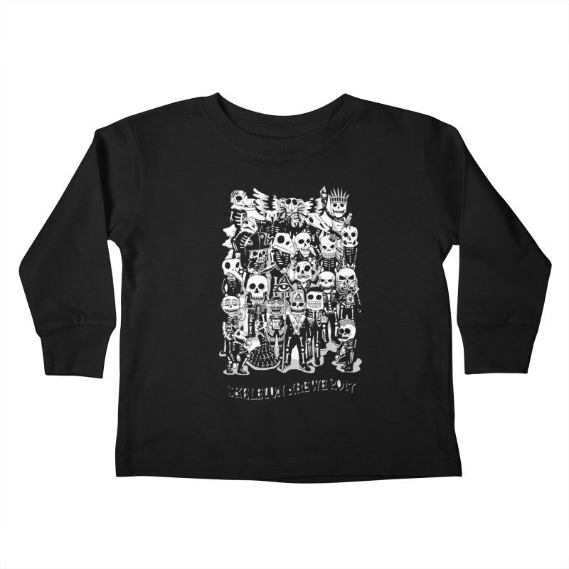 Skeleton Krewe 2017 Kids Toddler Longsleeve T-Shirt by Skeleton Krewe's Shop