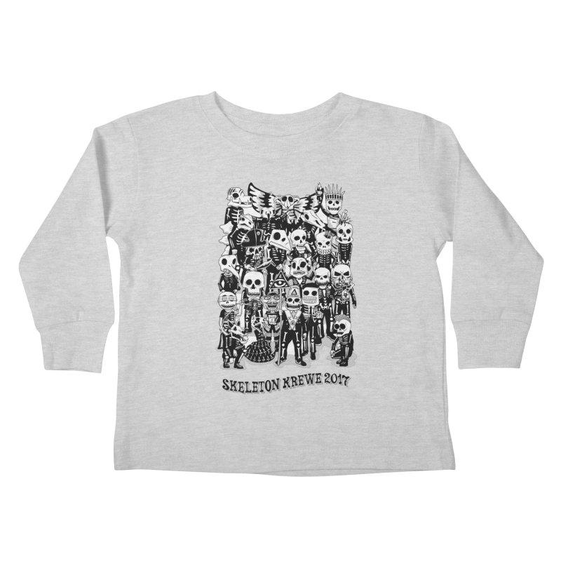 Skeleton Krewe 2017 Kids Toddler Longsleeve T-Shirt by Skeleton Krewe's Shop