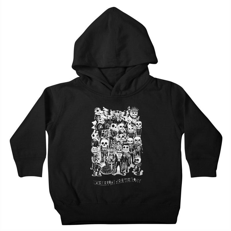 Skeleton Krewe 2017 Kids Toddler Pullover Hoody by Skeleton Krewe's Shop