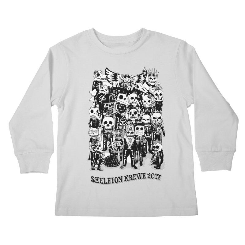 Skeleton Krewe 2017 Kids Longsleeve T-Shirt by Skeleton Krewe's Shop