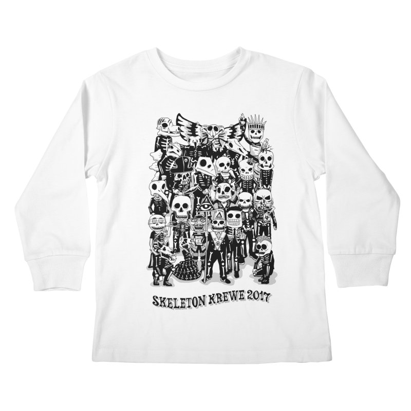Skeleton Krewe 2017 Kids Longsleeve T-Shirt by Skeleton Krewe's Shop