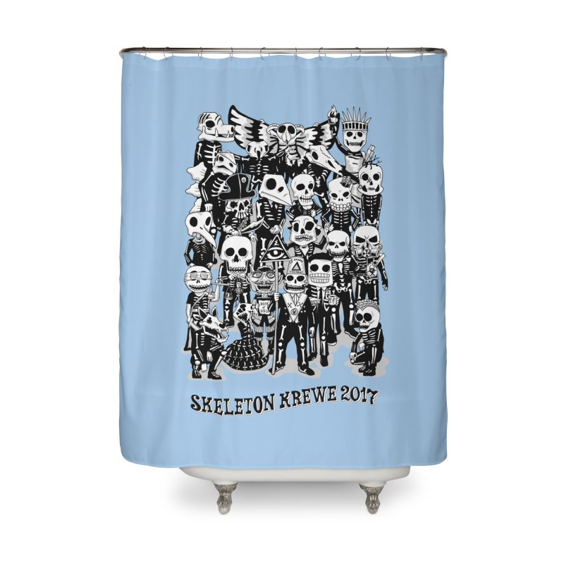 Skeleton Krewe 2017 Home Shower Curtain by Skeleton Krewe's Shop
