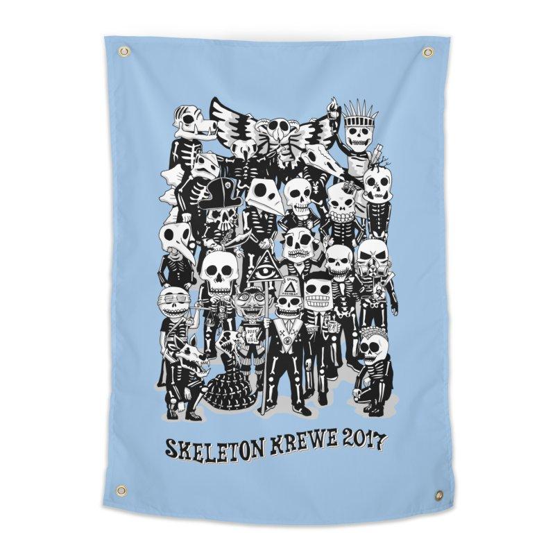 Skeleton Krewe 2017 Home Tapestry by Skeleton Krewe's Shop