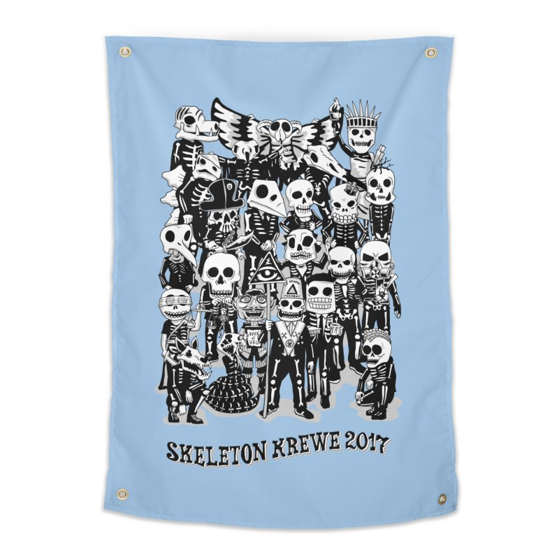 Skeleton Krewe 2017 Home Tapestry by Skeleton Krewe's Shop
