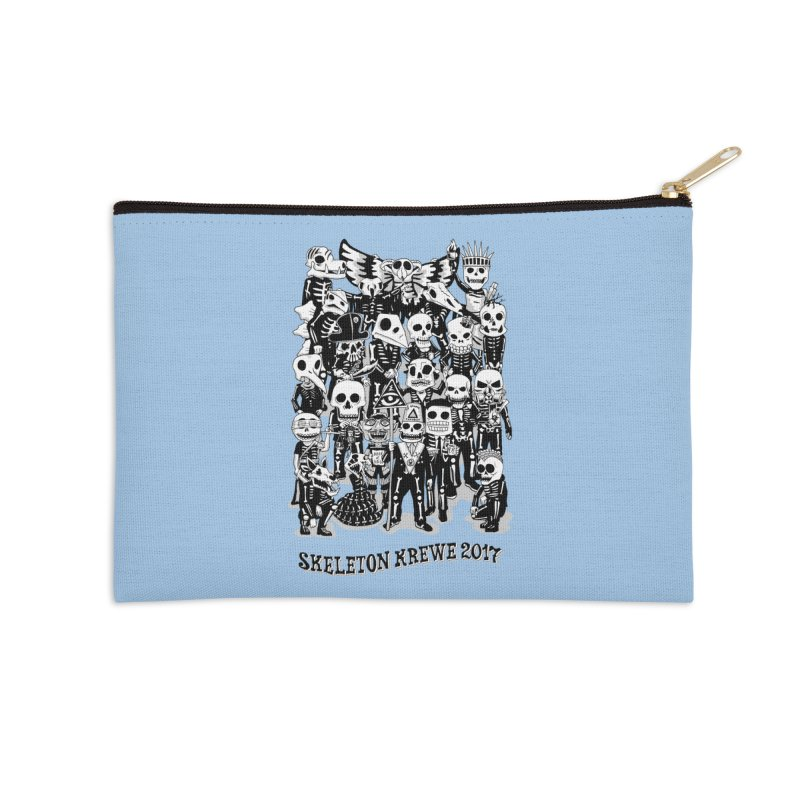 Skeleton Krewe 2017 Accessories Zip Pouch by Skeleton Krewe's Shop