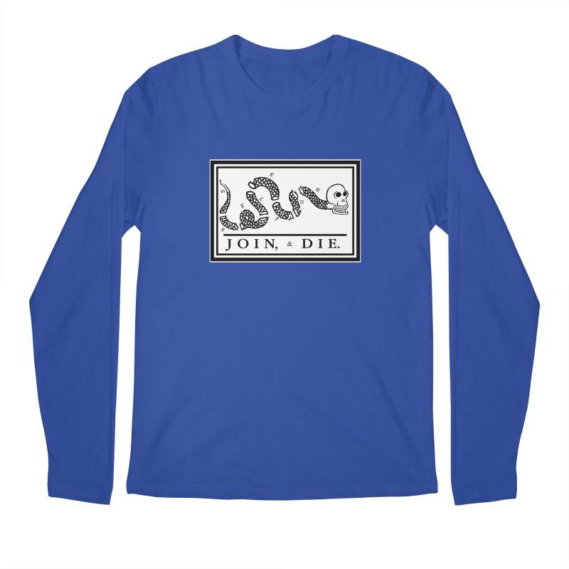 Join & Die Men's Regular Longsleeve T-Shirt by Skeleton Krewe's Shop