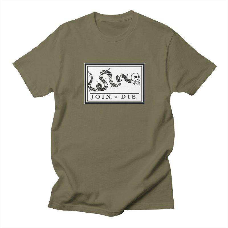 Join & Die Men's T-Shirt by Skeleton Krewe's Shop