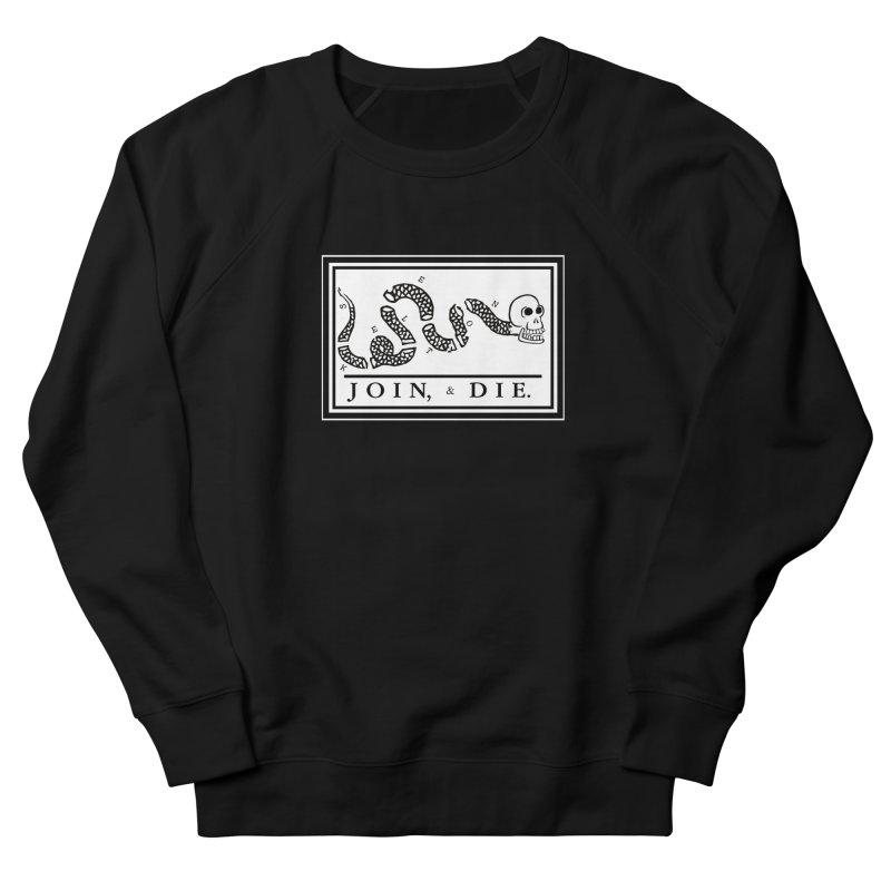 Join & Die Men's Sweatshirt by Skeleton Krewe's Shop