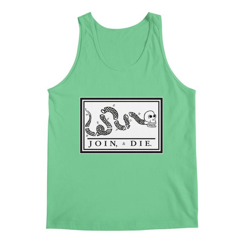 Join & Die Men's Regular Tank by Skeleton Krewe's Shop