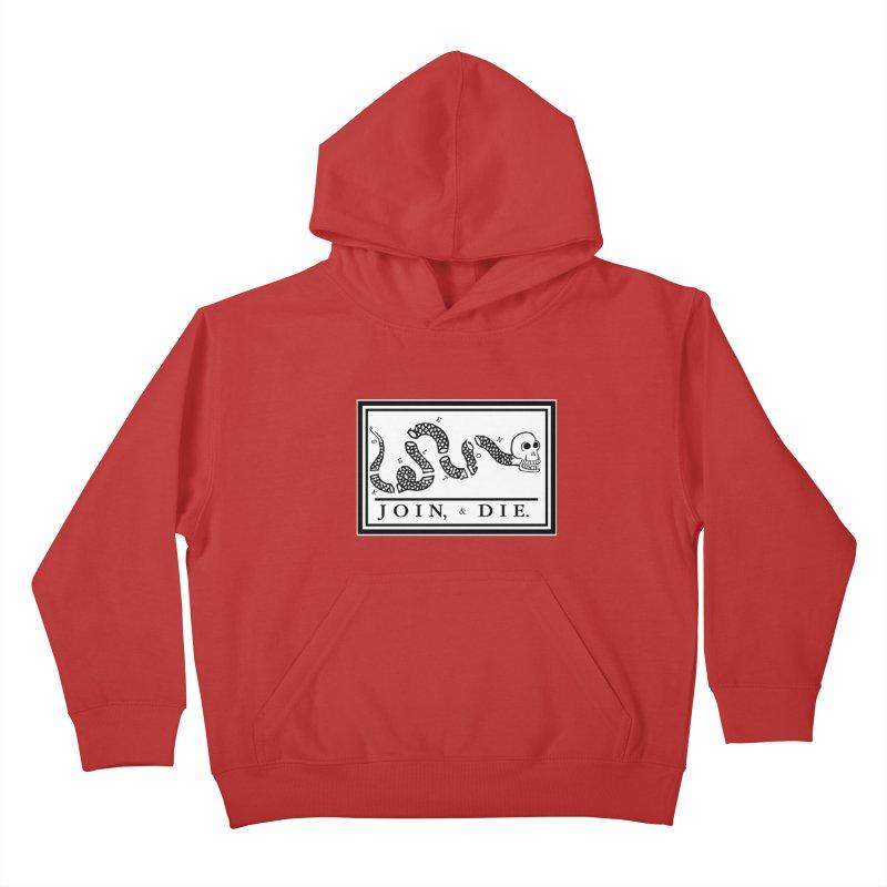 Join & Die Kids Pullover Hoody by Skeleton Krewe's Shop
