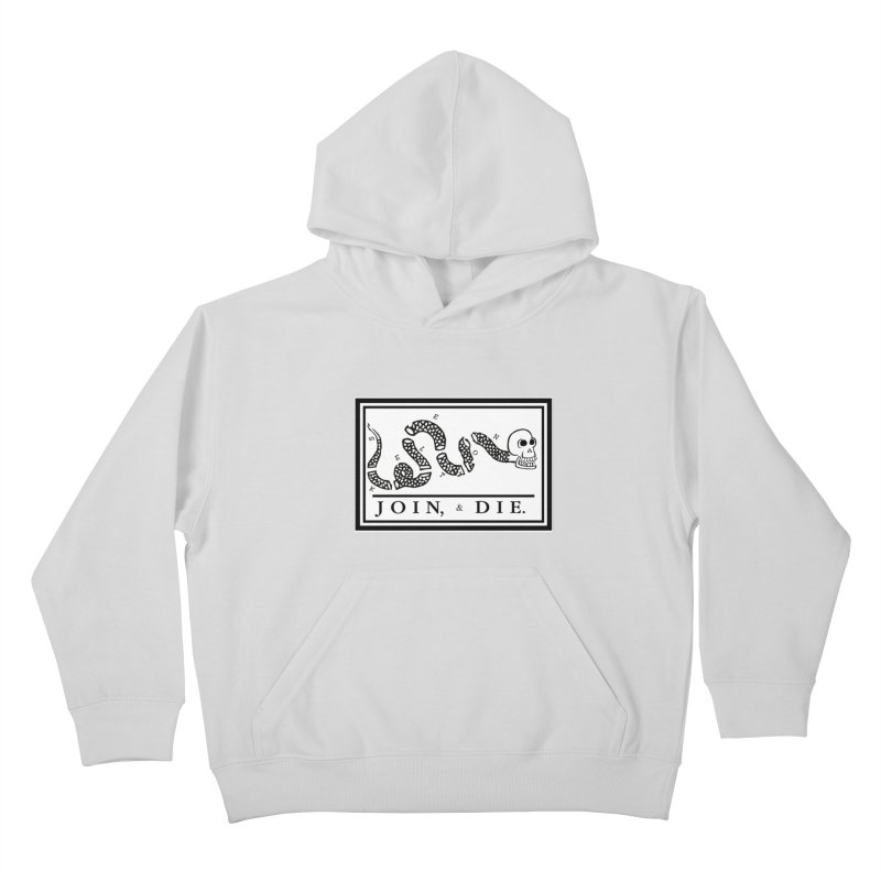 Join & Die Kids Pullover Hoody by Skeleton Krewe's Shop