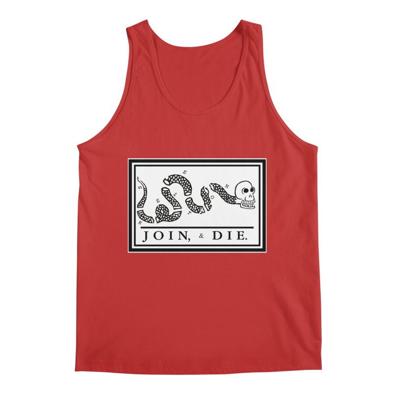 Join & Die Men's Regular Tank by Skeleton Krewe's Shop