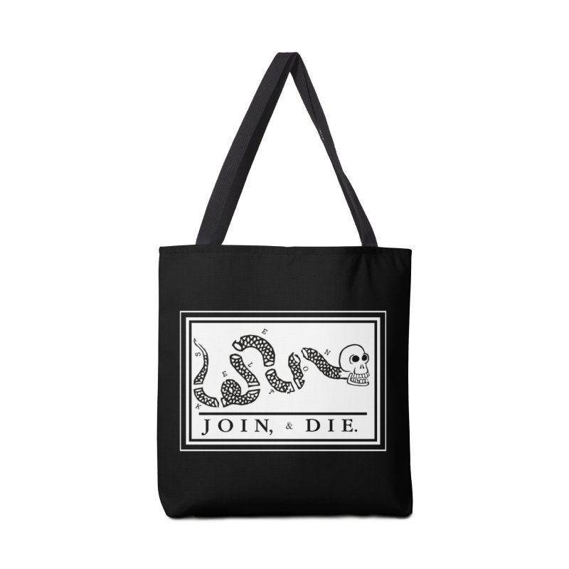 Join & Die Accessories Tote Bag Bag by Skeleton Krewe's Shop