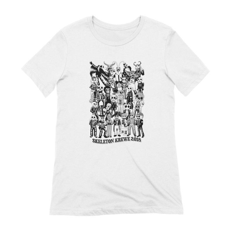 Skeleton Krewe 2018 Women's Extra Soft T-Shirt by Skeleton Krewe's Shop