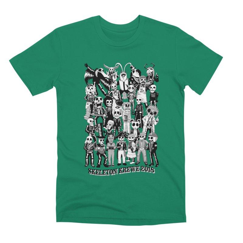 Skeleton Krewe 2018 Men's Premium T-Shirt by Skeleton Krewe's Shop