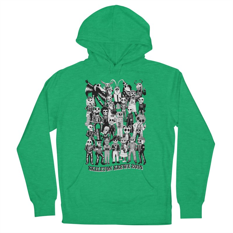 Skeleton Krewe 2018 Women's French Terry Pullover Hoody by Skeleton Krewe's Shop