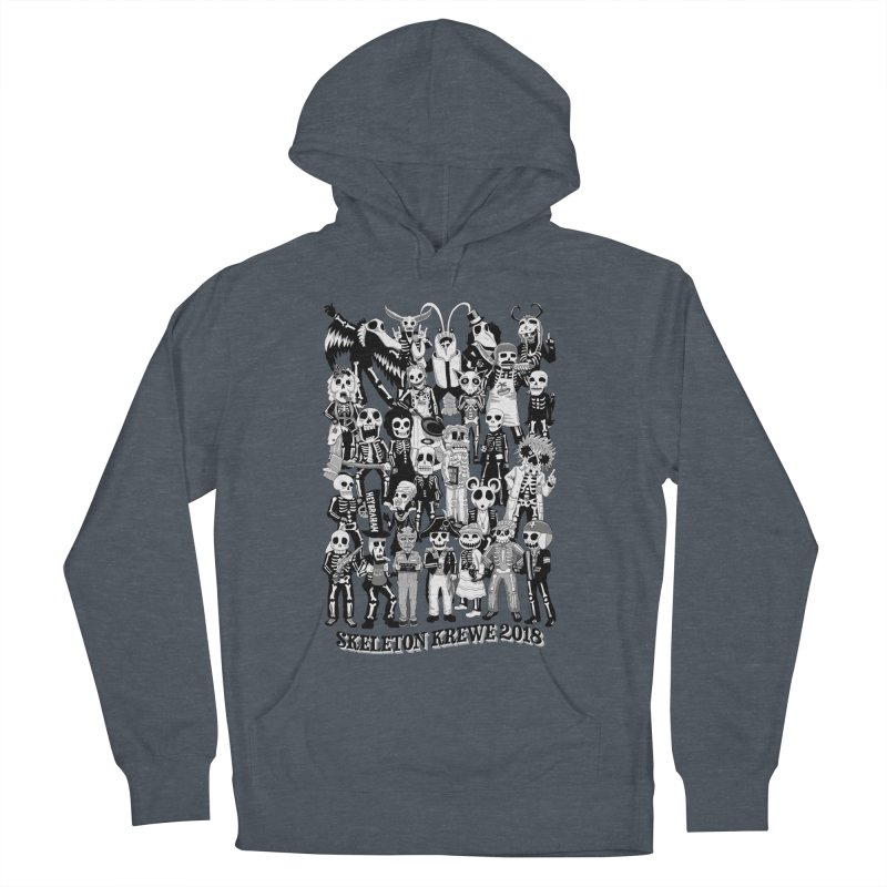Skeleton Krewe 2018 Men's French Terry Pullover Hoody by Skeleton Krewe's Shop