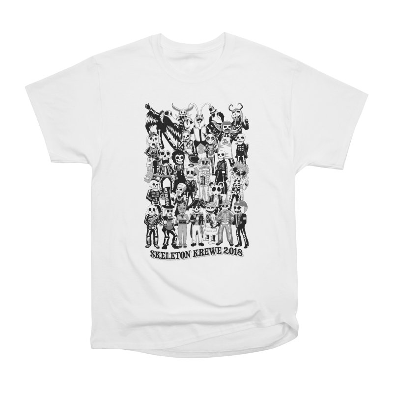 Skeleton Krewe 2018 Men's Heavyweight T-Shirt by Skeleton Krewe's Shop
