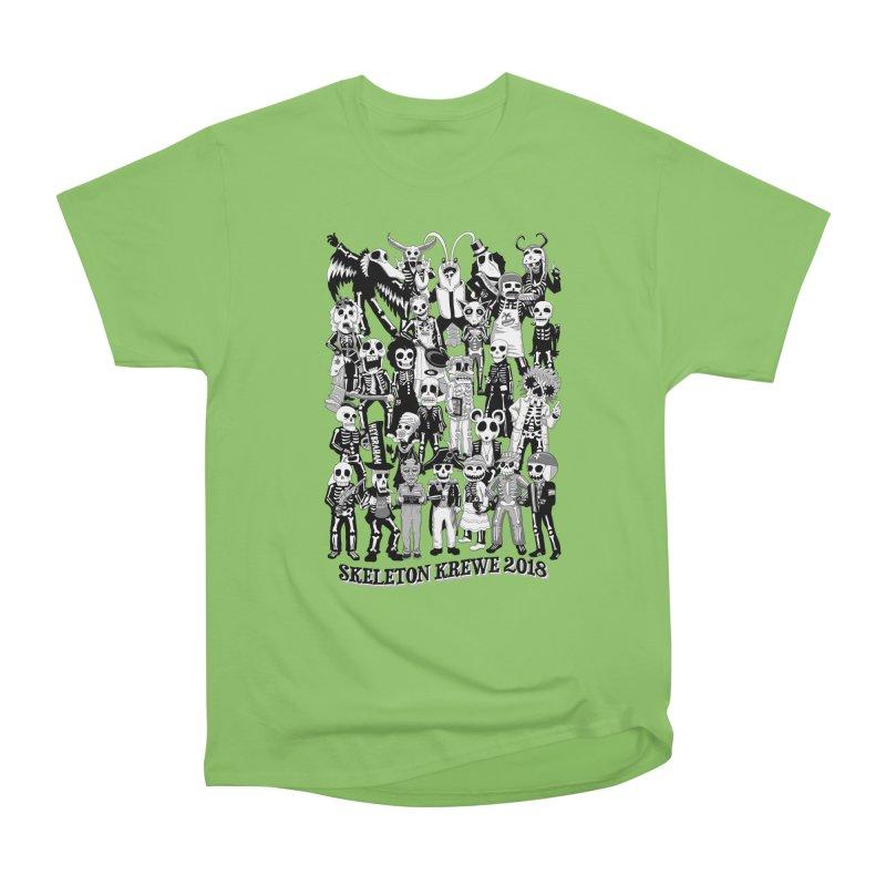 Skeleton Krewe 2018 Women's Heavyweight Unisex T-Shirt by Skeleton Krewe's Shop
