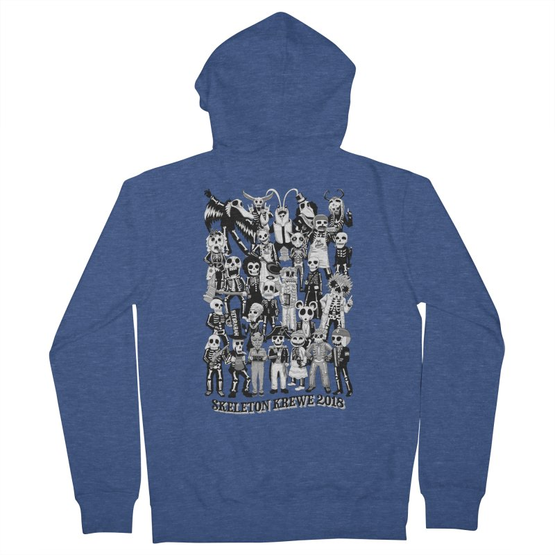 Skeleton Krewe 2018 Women's Zip-Up Hoody by Skeleton Krewe's Shop