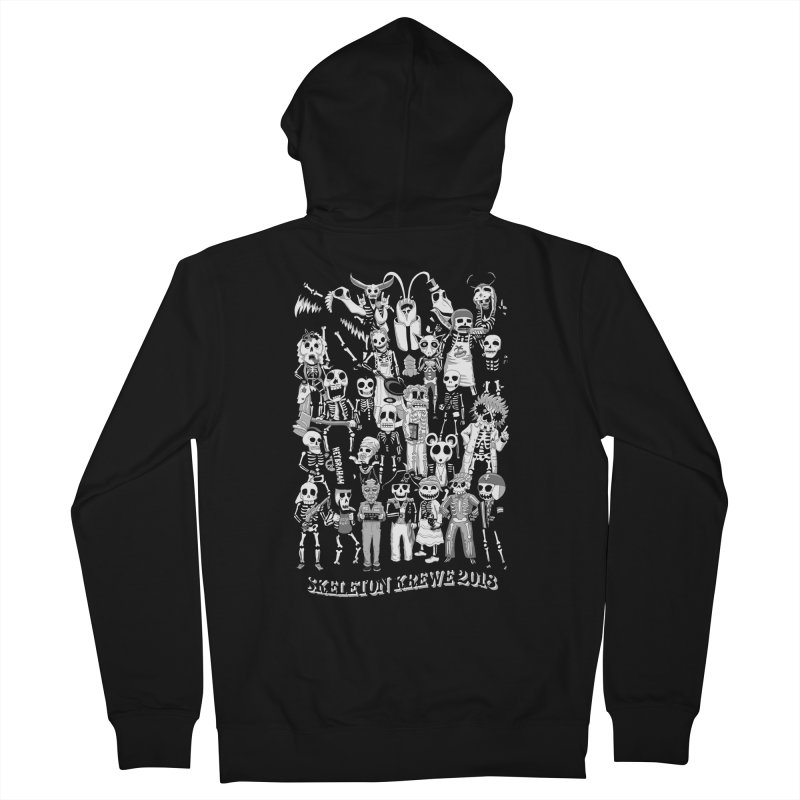 Skeleton Krewe 2018 Men's French Terry Zip-Up Hoody by Skeleton Krewe's Shop