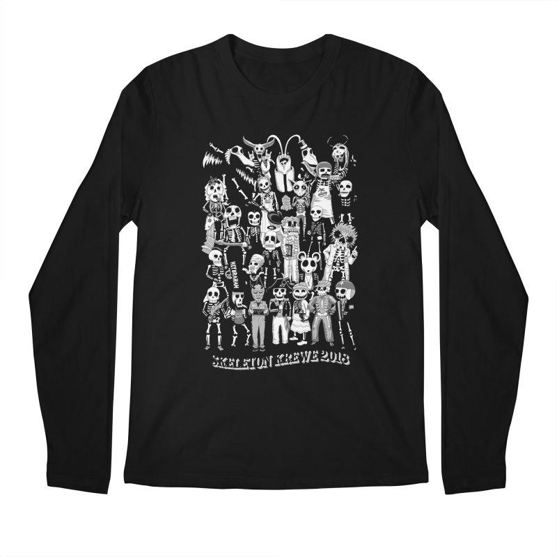 Skeleton Krewe 2018 Men's Regular Longsleeve T-Shirt by Skeleton Krewe's Shop