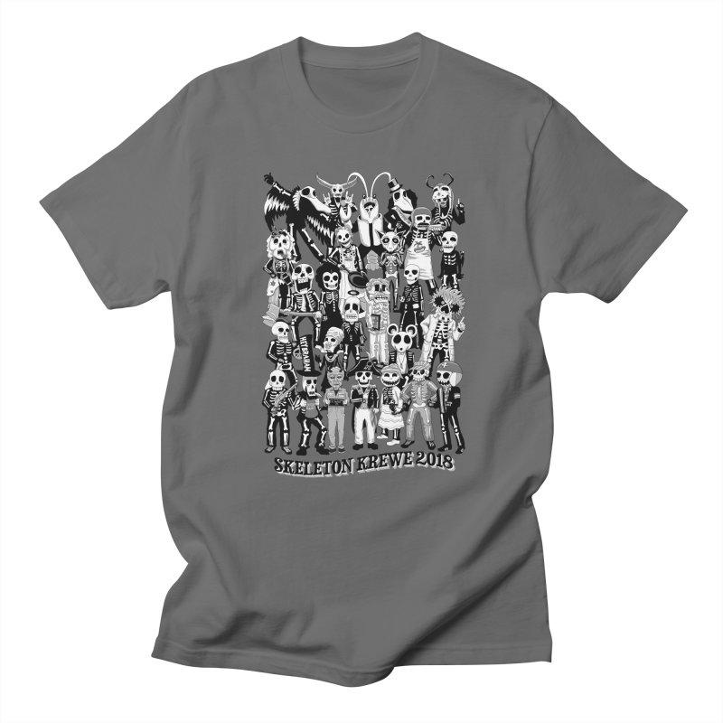 Skeleton Krewe 2018 Men's T-Shirt by Skeleton Krewe's Shop