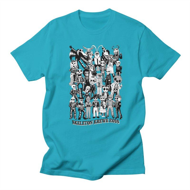 Skeleton Krewe 2018 Men's Regular T-Shirt by Skeleton Krewe's Shop