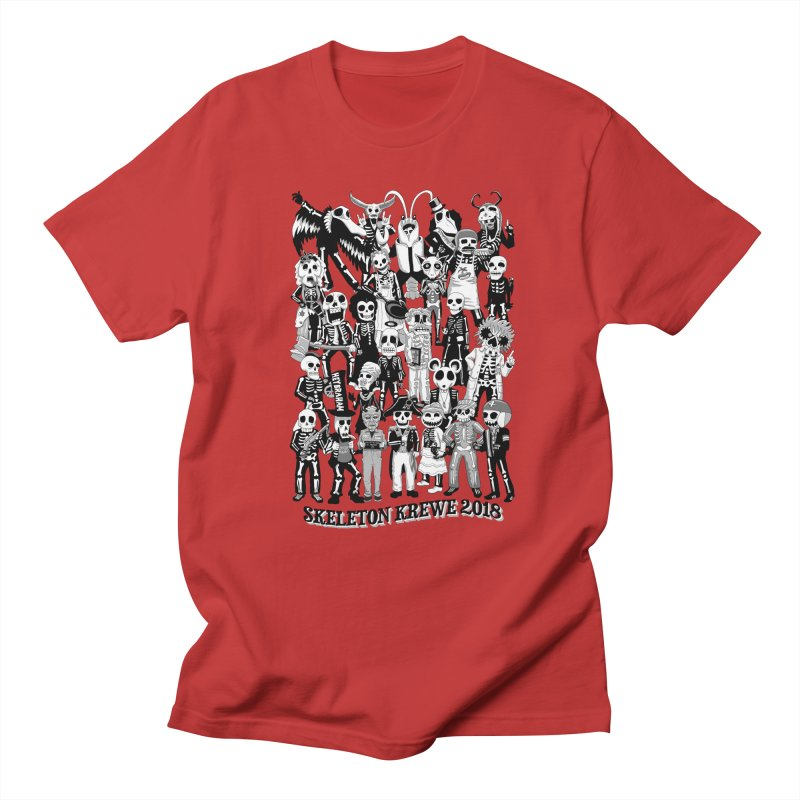 Skeleton Krewe 2018 Women's Regular Unisex T-Shirt by Skeleton Krewe's Shop