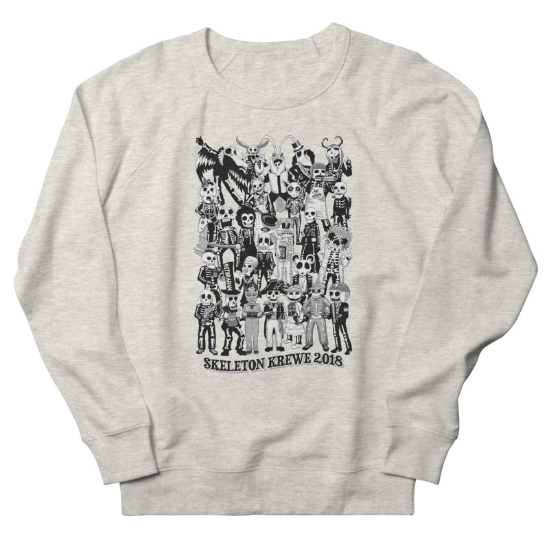Skeleton Krewe 2018 Women's French Terry Sweatshirt by Skeleton Krewe's Shop