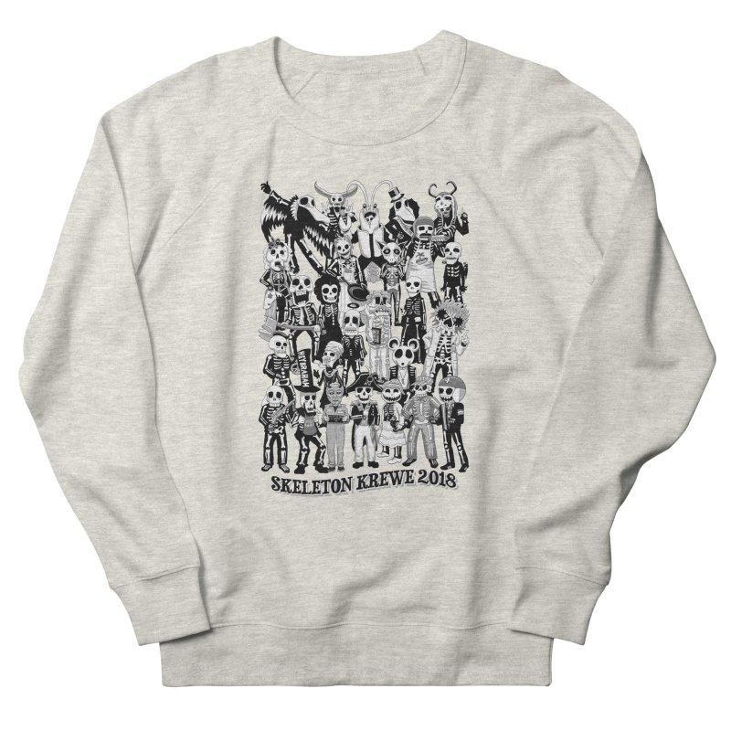 Skeleton Krewe 2018 Men's French Terry Sweatshirt by Skeleton Krewe's Shop