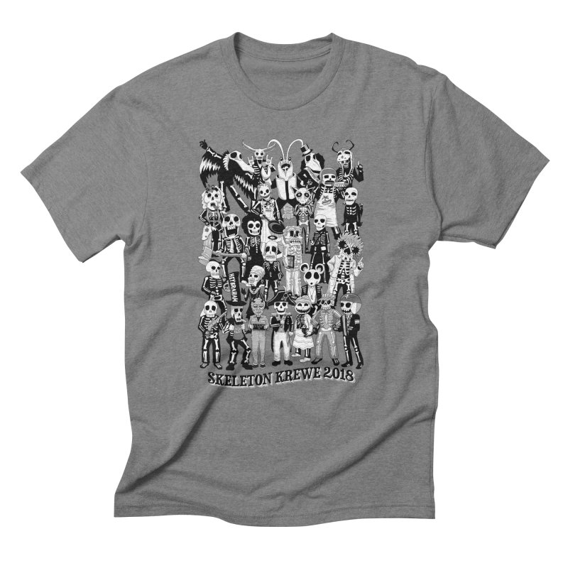 Skeleton Krewe 2018 Men's Triblend T-Shirt by Skeleton Krewe's Shop