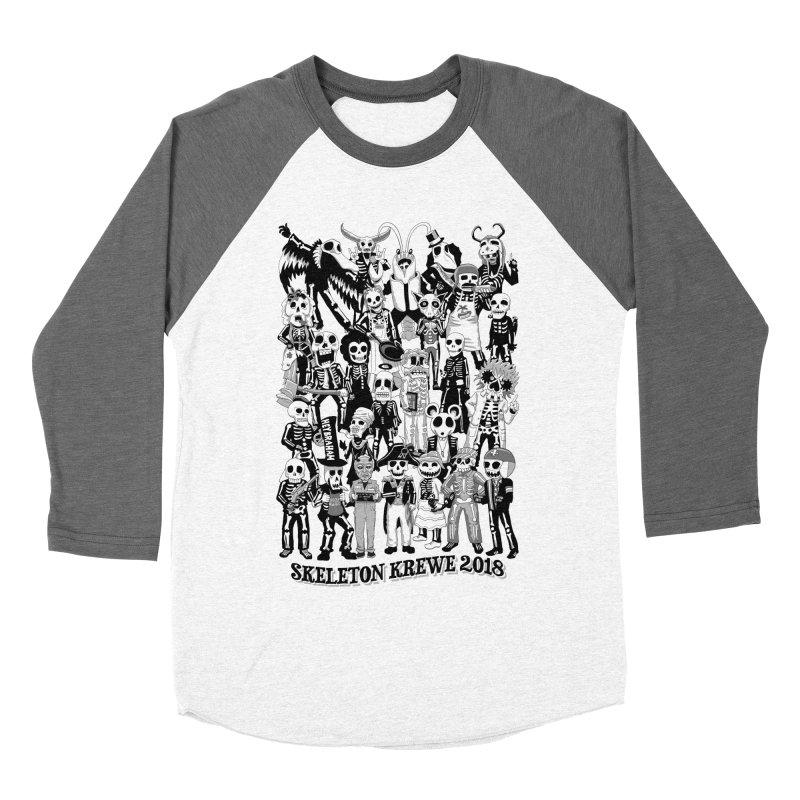 Skeleton Krewe 2018 Men's Baseball Triblend T-Shirt by Skeleton Krewe's Shop