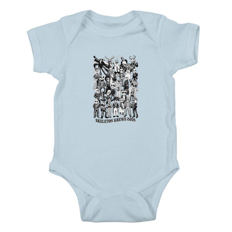 Skeleton Krewe 2018 Kids Baby Bodysuit by Skeleton Krewe's Shop